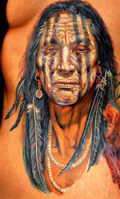 imagenes de indias aztecas tatuajes indios pecho