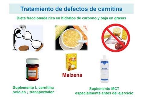 alimenti con carnitina 191 tienen tratamiento los defectos metabolismo de la