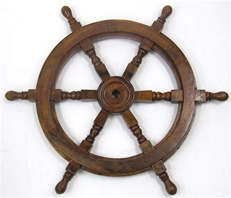 small fishing boats with steering wheel ship s steering wheel 24 quot wooden hub nautical pirate boat