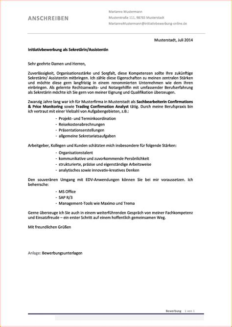 Lebenslauf Englisch Sekretarin Bewerbungsschreiben Englisch Vorlage Und Muster Cover Letter Beispiel 2 Das Anschreiben Muster