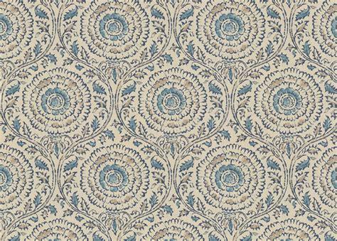 Micah Blue Fabric Ethan Allen