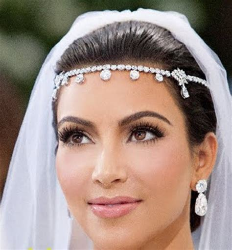 braut diät sale kim kardashian headpiece bridal headband wedding