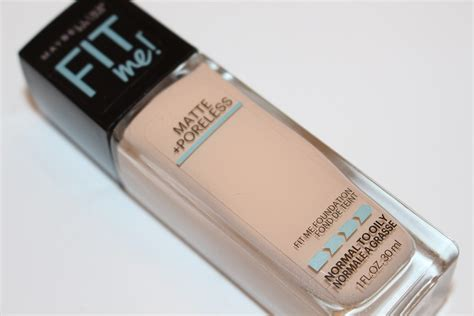 Maybelline Fit Me Foundation Review maybelline fit me matte poreless foundation review