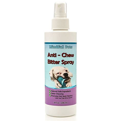 bitter spray for dogs anti chew bitter spray for dogs and puppies w tea tree best deterrent t ebay