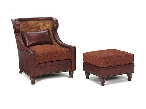 ashley chair and ottoman leathercraft 101 17 ashley wing chair and 103 4 ashley
