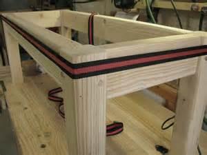 fabriquer un banc bon sang de bois