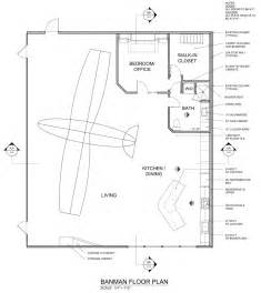Hangar Home Floor Plans by Banman Live Work Airplane Hangar James Mcgarry Archinect