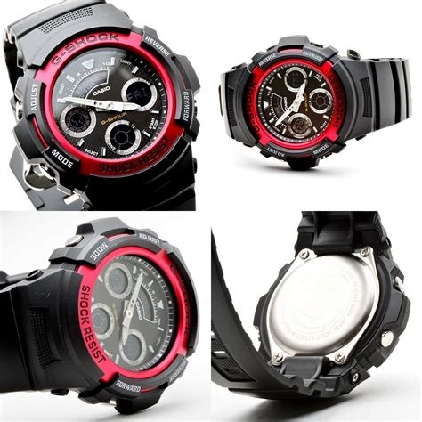 Casio G Shock Aw 591 4adr Hitam casio g shock aw 591 4adr analog digital s buy
