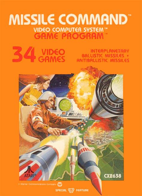 missile command the atari 2600 journal books review atari missile command for atari 2600