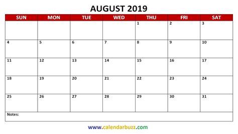 printable calendar monthly calendarbuzz