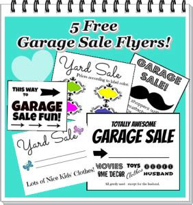 Free Garage Sale Flyers Printable Garage Sale Flyers | free garage sale flyers printable garage sale flyers