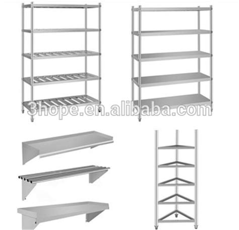 stainless steel commercial kitchen storage plate rack