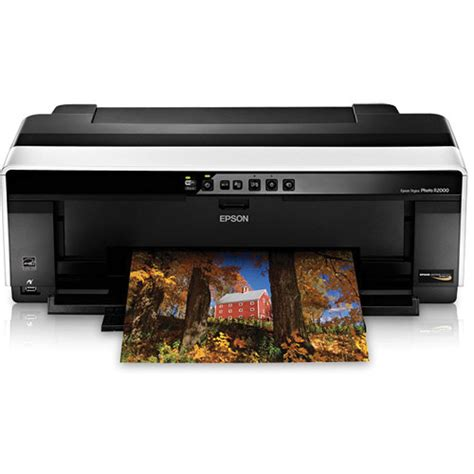 Printer Epson R2000 epson stylus photo r2000 wireless color inkjet printer