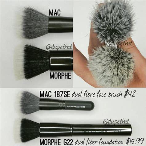 Morphe G22 Duo Fiber Foundation Gunmetal Edition dupethat mac 187se dual fibre brush dupes