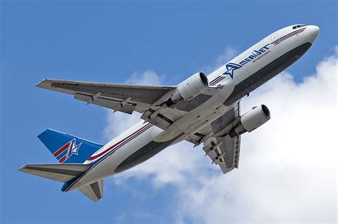 atsg delivers   converted freighter  amerijet