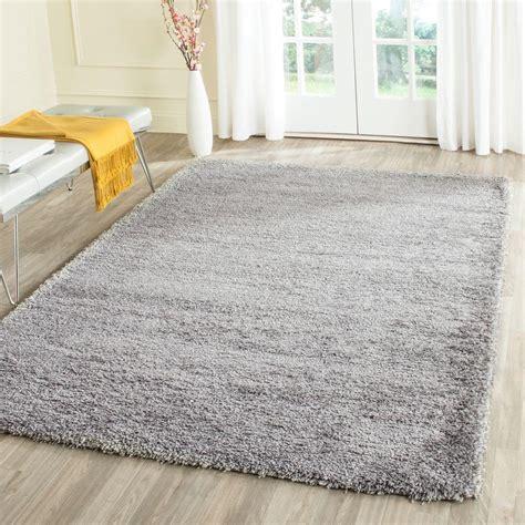 11 x 15 area rug safavieh california shag silver 11 ft x 15 ft area rug sg151 7575 1115 the home depot
