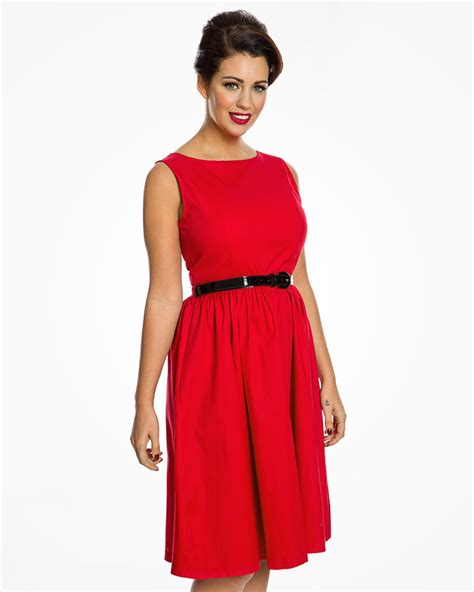 audrey swing dress audrey princess red swing dress vintage inspired
