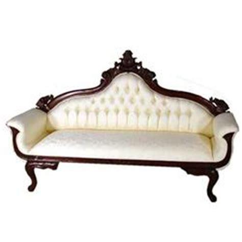 white victorian couch white silken cleopatra victorian sofa settee 1592479