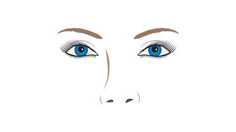 illustrator nose tutorial drawing eyes in illustrator cs6 youtube