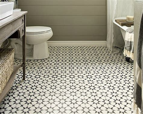 tile bathroom floor ideas classic mosaic as vintage bathroom floor tile ideas