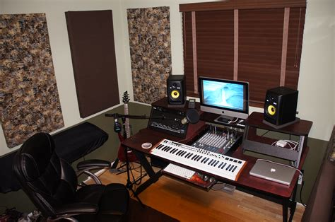 Joins Diy Recording Studio Desk Plans Small Recording Studio Desk