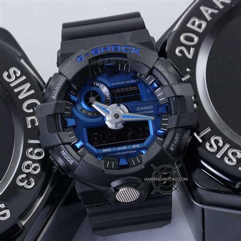 G Shock 5369 Rantai Black Blue Kw gambar g shock ori bm ga 710 1a2 black blue