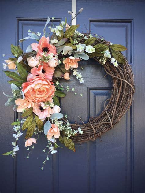 spring wreaths 2017 spring wreaths spring door decor spring decorating door