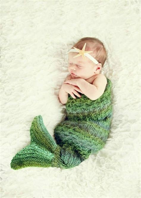knitted mermaid knit mermaid baby dress it