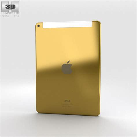 Air 2 Cellular apple air 2 cellular 24k gold 3d model hum3d