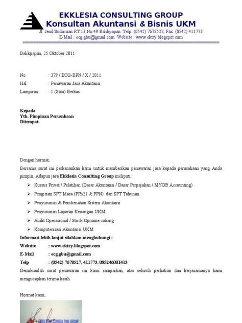 Contoh Surat Penawaran Barang Yang Baik by 12 Contoh Surat Penawaran Kerjasama Barang Jasa