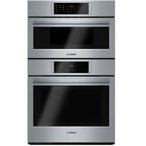 Samsung Kitchen Appliances Reviews Ratings - shop bosch self cleaning convection microwave wall oven combo common 30 in actual 29 75 in