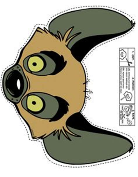 printable hyena mask template 1000 images about lion king jr on pinterest lion king