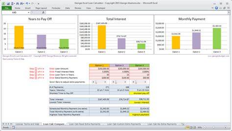 Excel Mortgage Calculator Spreadsheet for Home Loans ? Buy