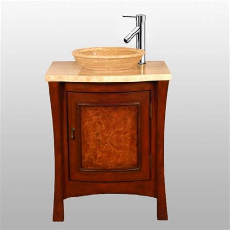26 inch vanity with sink 26 inch modern vessel sink vanity in multi tone brown