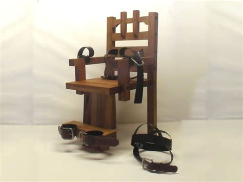 Edison Electric Chair by Custom Made Edison Electric Chair By Nikola Tesla