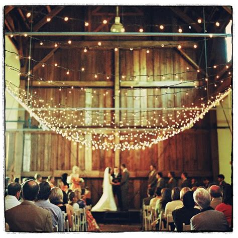 Wedding Lights by Country Barn Wedding Interior Design Inspirations And