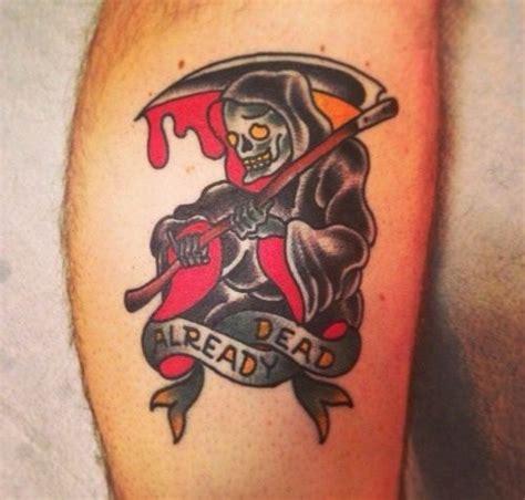 new school reaper tattoo old school grim reaper tattoo by mario desa tattooimages biz