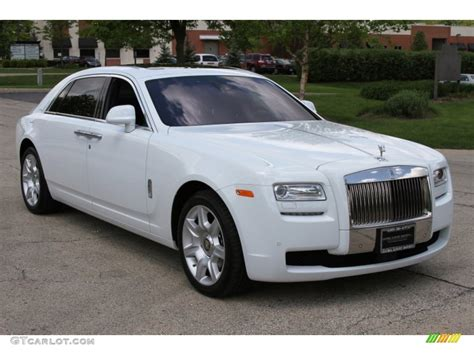 roll royce ghost white arctic white 2012 rolls royce ghost extended wheelbase