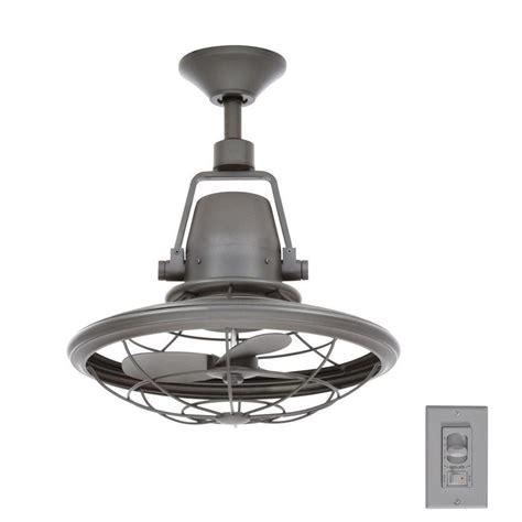 oscillating ceiling fan with light home decorators collection bentley ii 18 in indoor