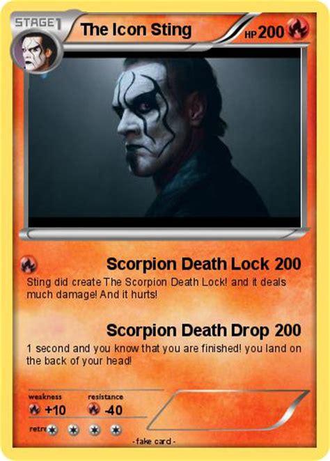 sting card pok 233 mon the icon sting 1 1 scorpion lock my