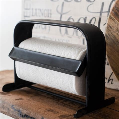 Paper Holders metal counter top paper towel holder antique farmhouse