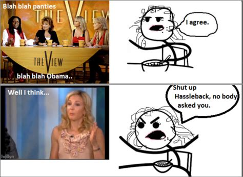 Cereal Girl Meme - cereal girl cereal guy hassleback meme the view