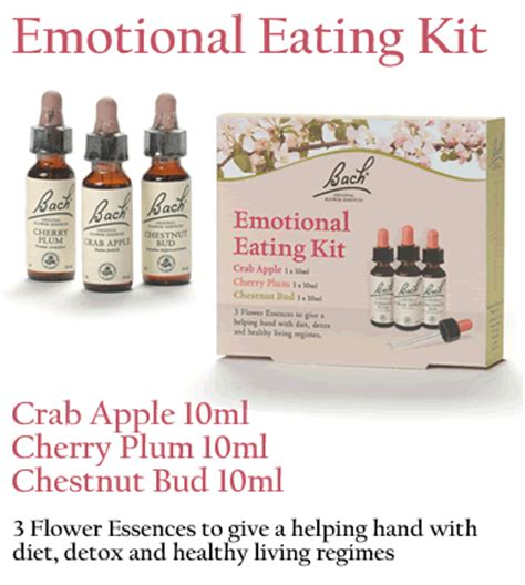 Detox Diet Kit Uk by Bach Emotional Kit Bach Flower Remedies To Aid