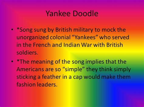yankee doodle meaning song the great awakening religious movement in the 1730s and