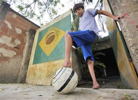 11 year old boy without feet determined to play football