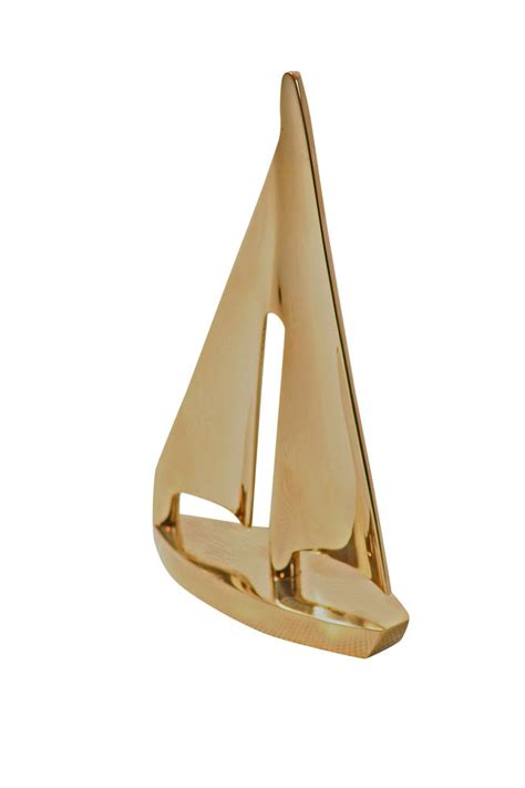 boat gifts brass model sailing boat nautical ornament gift brass