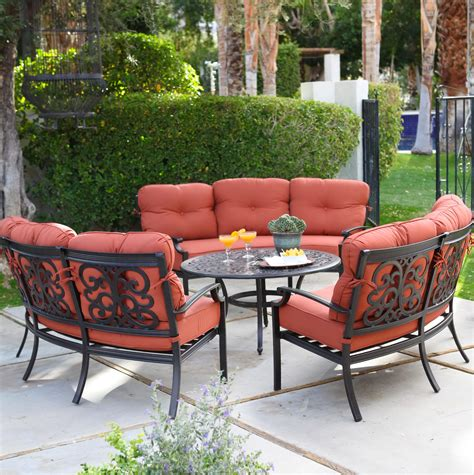 cast aluminum patio furniture sets cast aluminum patio furniture conversation sets home