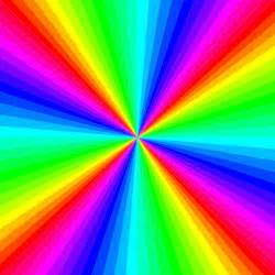 optical color kaleidoscope of colors optical illusion picture