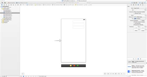 xcode text field layout getting started part 1 begin your first iphone app