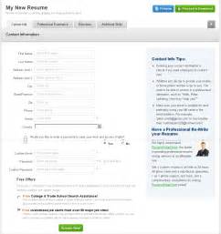 Best Free Resume Builder Website 2013 by 10 Free Online Resume Creators Cv